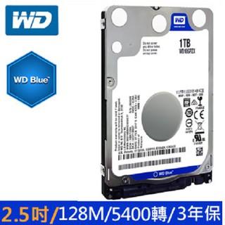 WD [藍標7mm] 1TB 2.5吋裝機硬碟(WD10SPZX) 臺北市