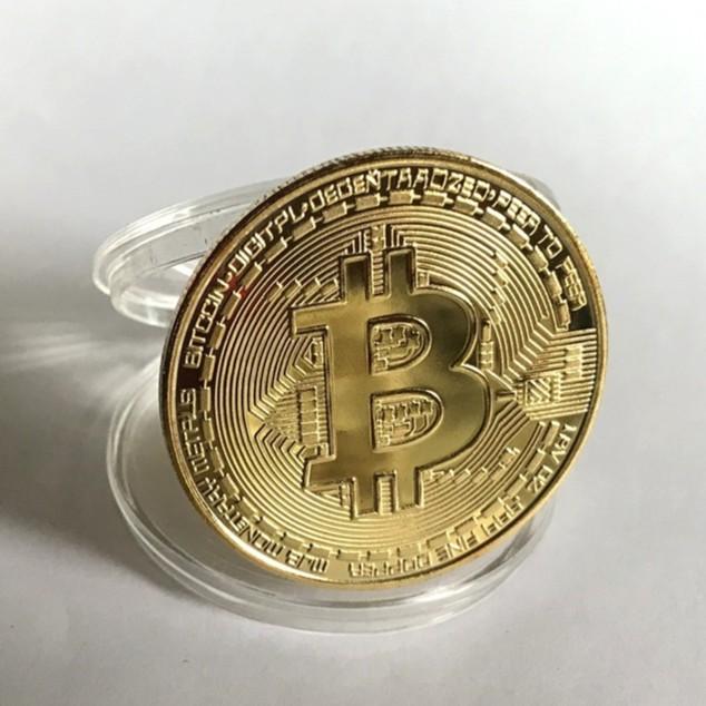 Bitcoin BTC比特幣金幣 ETH以太金幣 比特幣 以太幣  虛擬幣 小禮物 生日 虛擬幣收藏 BTC礦工收藏幣