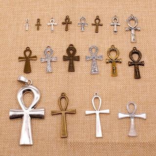 Ankh十字架的魅力,用於手工製作的珠寶。
