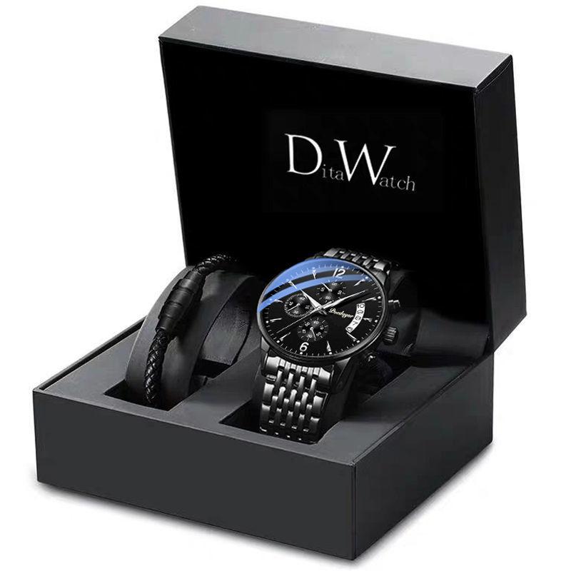瑞士原裝正品防水夜光男士機械手錶學生韓版潮流運動日曆腕錶新款