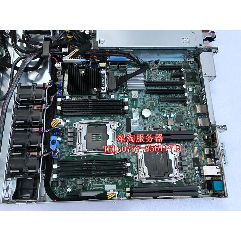 【拆機】全新 DELL R430 R530服務器主板 HFG24 3XKD DYFC8 XN