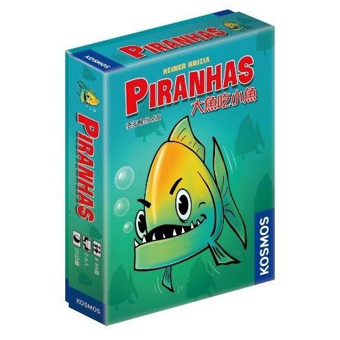 【桌遊老爹】Piranhas 大魚吃小魚 中文版●正版商品、滿千免運!●