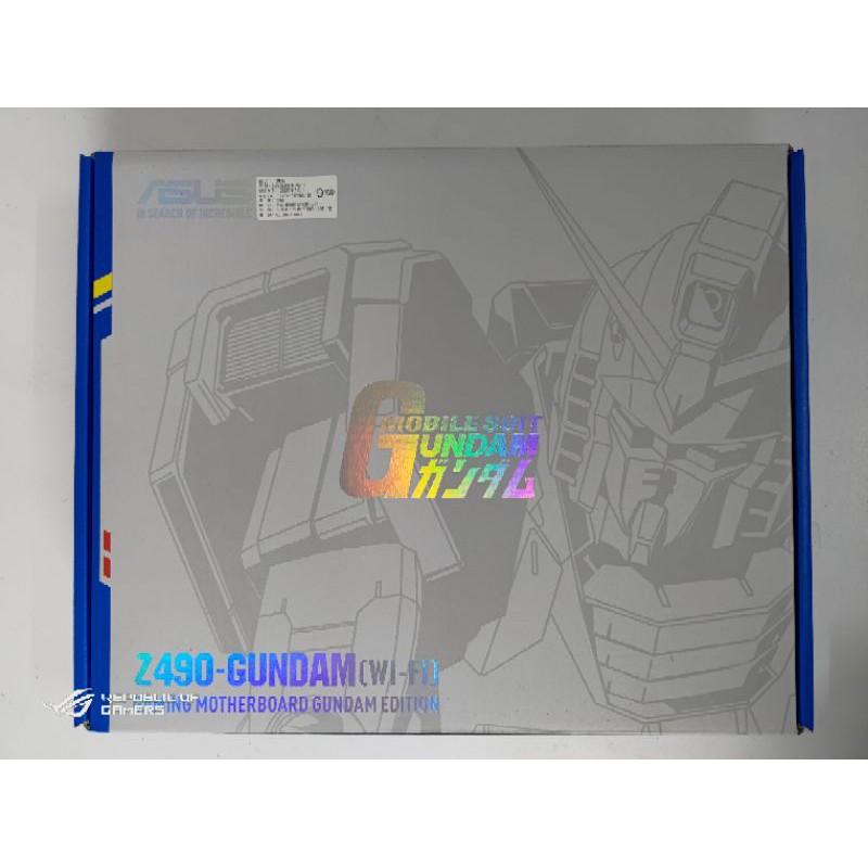 華碩ASUS Z490-GUNDAM (WI-FI) 全新 僅開封已註冊五年保 鋼彈聯名