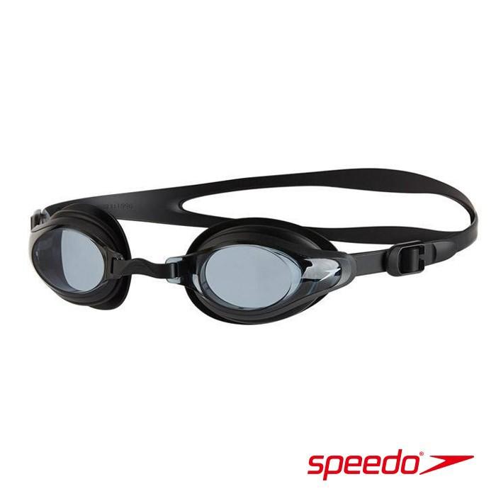 ║speedo║成人運動泳鏡Futura Biofuse綠灰