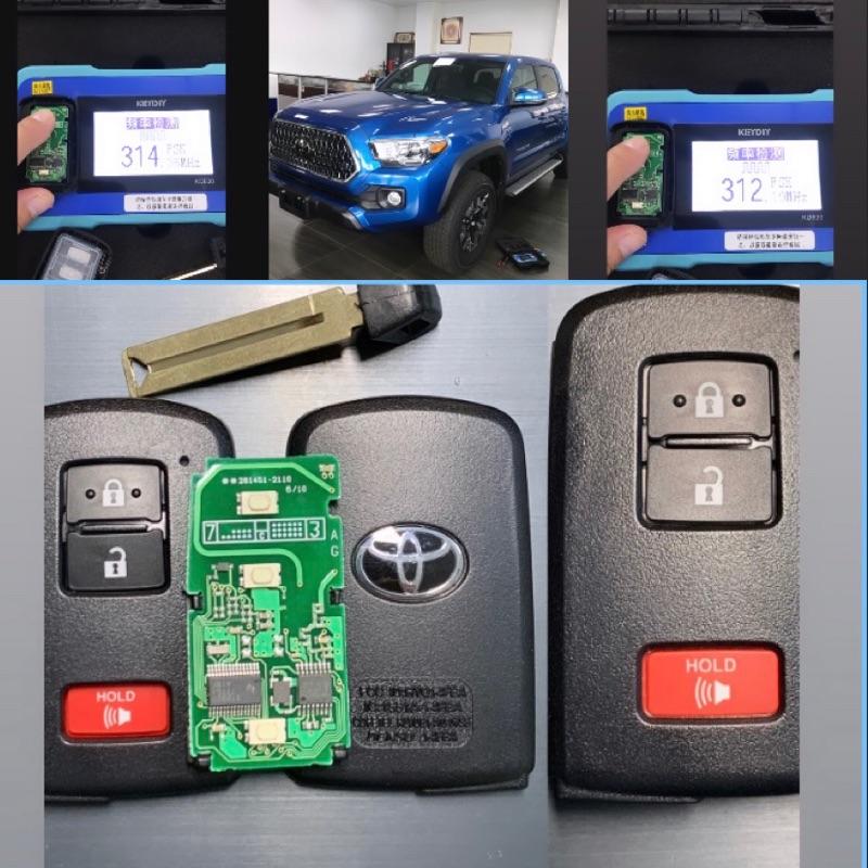 豐田 Toyota 美規 智能 鑰匙Tacoma 可議價