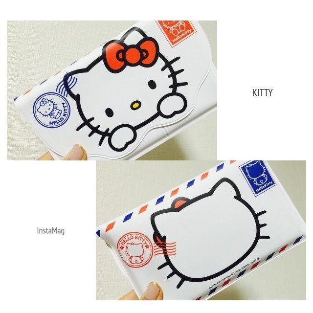 Ariel's Wish-2014日本郵局郵便局限量三麗鷗聯名Hello kitty大頭凱蒂貓存簿套存摺套提款卡套護照套
