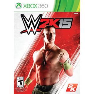 【二手遊戲】XBOX360 激爆職業摔角 美國勁爆職業摔角 2015 WWE 2K15 英文版【台中恐龍電玩】 臺中市