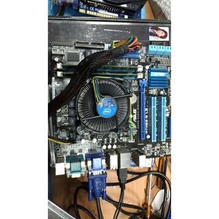 華碩P7H55-M-LE MB主機板+Core i3-540處理器+4G DDR3 記億體、附擋板與風扇 新北市