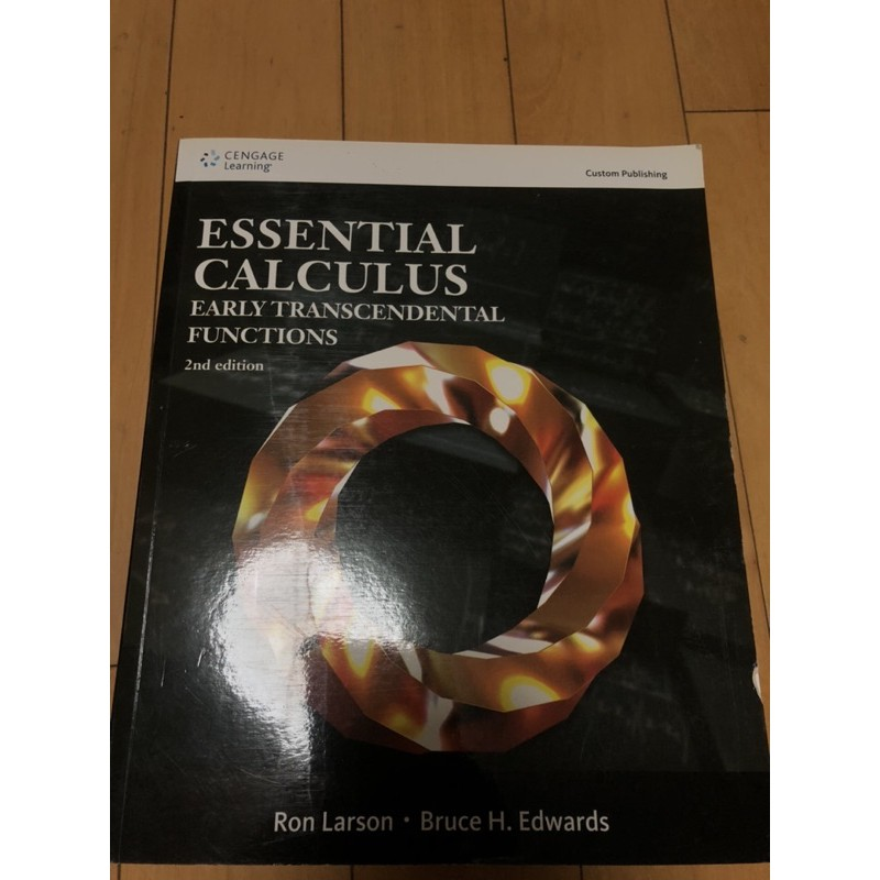 Essential Calculus—Early Transcendental Functions 2nd  原文微積分