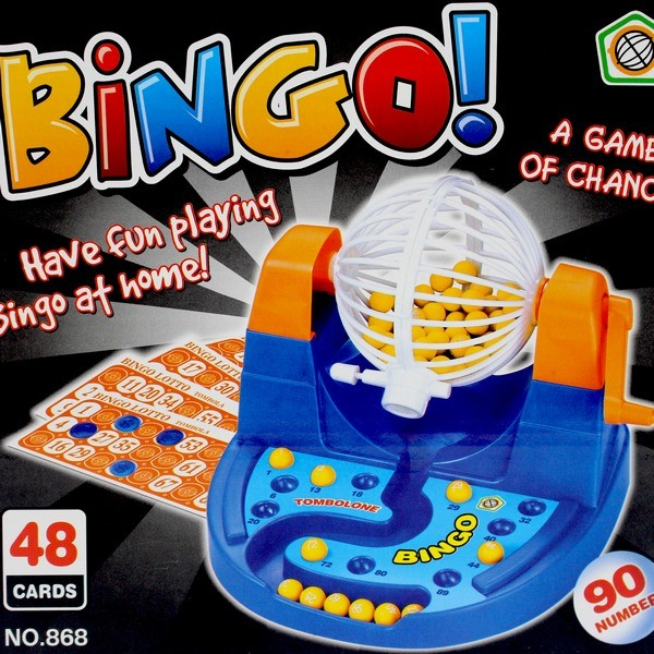 BINGO賓果搖獎機 NO.868.862 賓果卡搖獎機 (1-90號)/一組入 (定199) 搖獎機 摸彩機