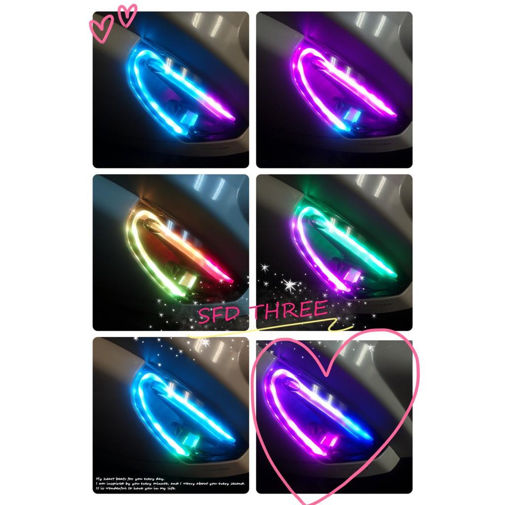 『小星精品』免運 ST MANY幻彩方向燈組 方向燈 LED 定位 幻彩 變色 遙控 發光 跑馬 MANY  魅力