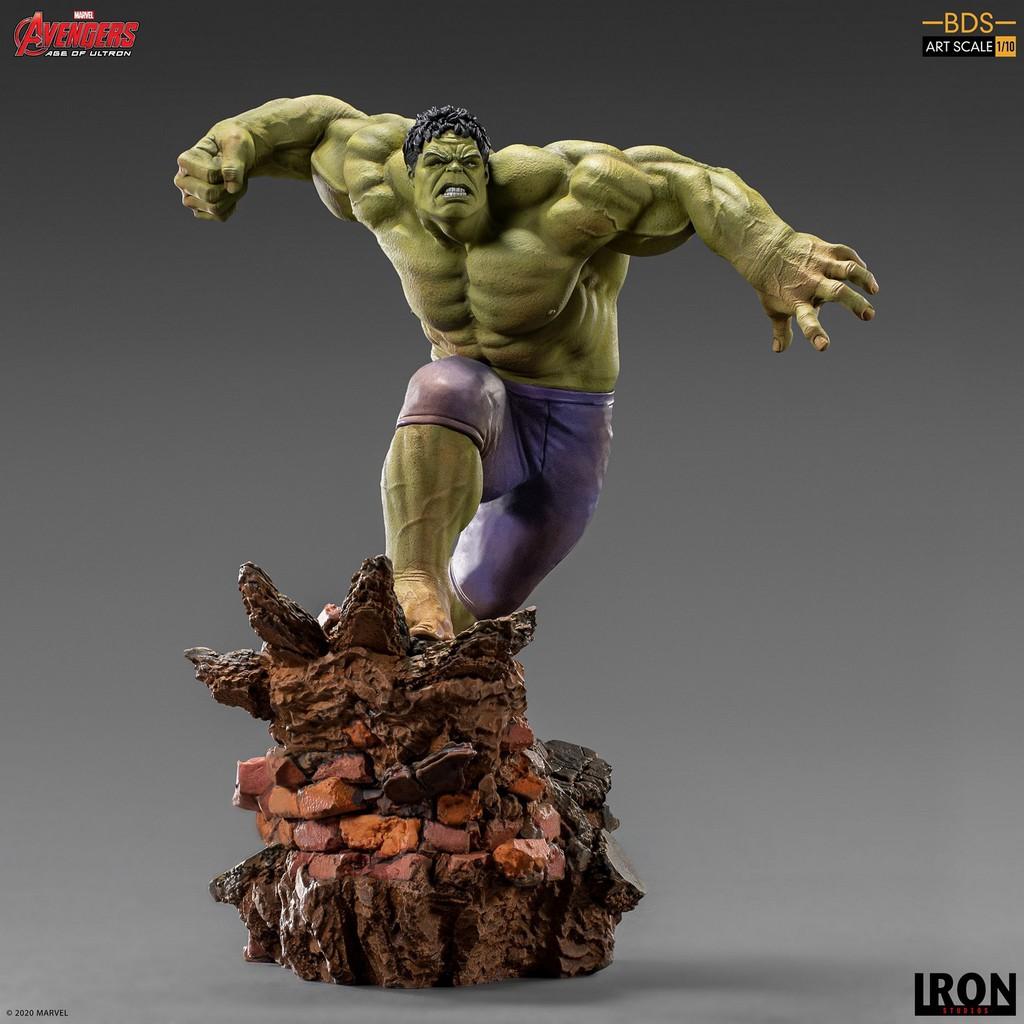 預購 Iron Studios 1/10 Marvel 復仇者聯盟2奧創紀元 綠巨人 浩克