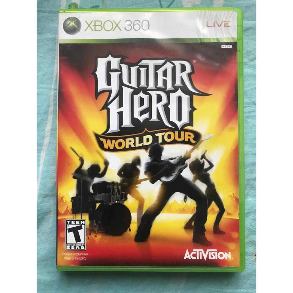 二手 XBOX360游戲 吉他英雄4世界巡演 回收游戲主機熱賣 現貨