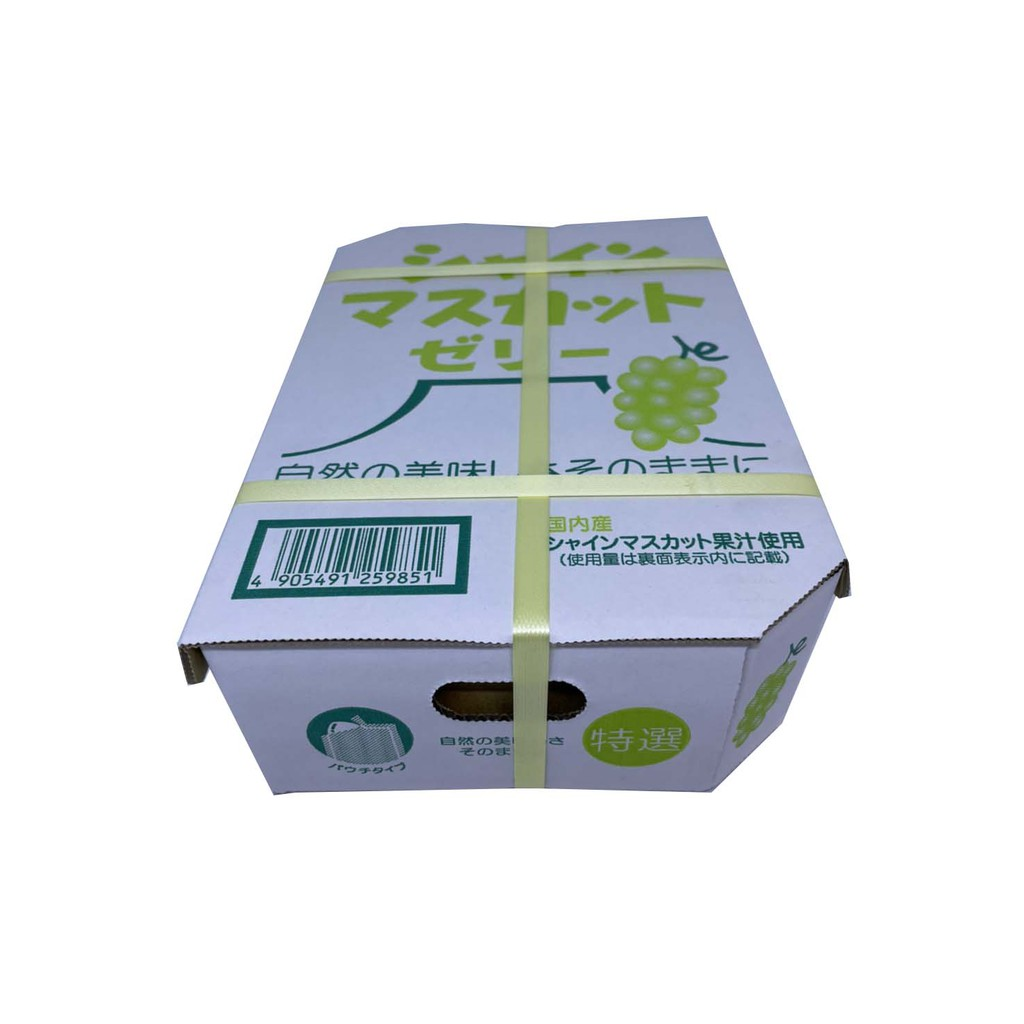最新產期 最佳伴手禮 日本AS 🍇麝香葡萄美味果凍🍇 一盒20個🍇🍇🍇 超取一單限10盒