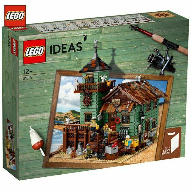 樂高 LEGO IDEAS 21310 Fishing Store 老漁屋