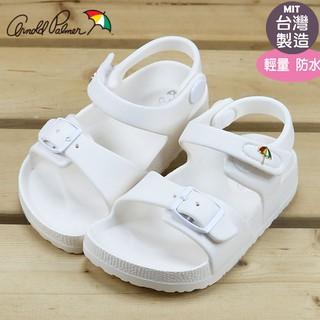 童鞋/ 雨傘牌ARNOLD PALMER 輕便軟底防水涼鞋.兒童涼鞋.白15-20(883845) 新北市