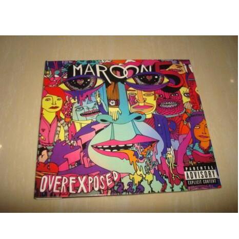 CD 魔力紅 Maroon 5 Overexposed 現貨