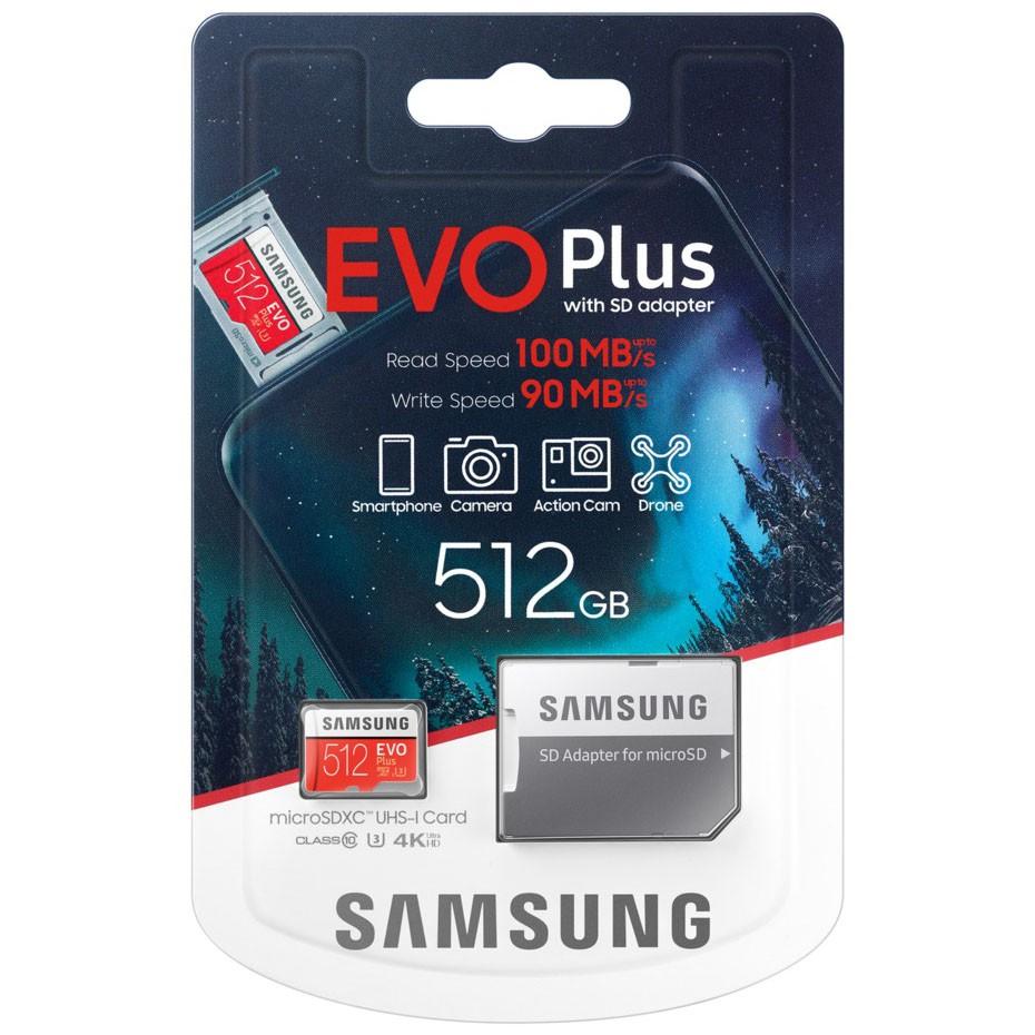 2020 新版 三星 Samsung EVO Plus microSD 記憶卡 正版 512GB