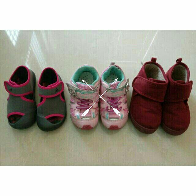 二手 童鞋 學步鞋 腳長15CM 月星moonstar 愛迪達Adidas