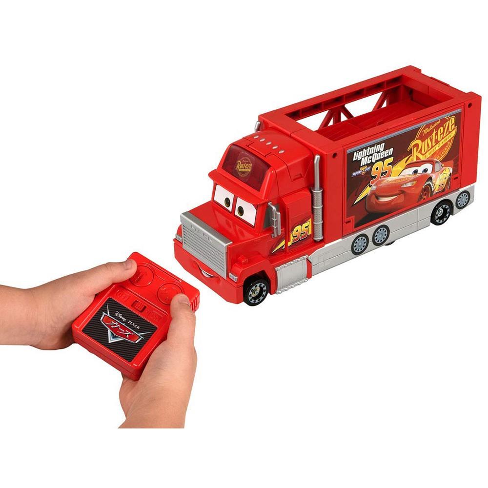 TOMICA CARS 汽車總動員 麥大叔 紅外線遙控收納貨車 特價