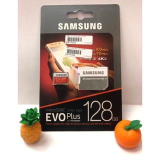 現貨 SAMSUNG 三星 EVO Plus U3 microSD 128G 128GB 4K 手機 TF記憶卡 一年保 臺中市