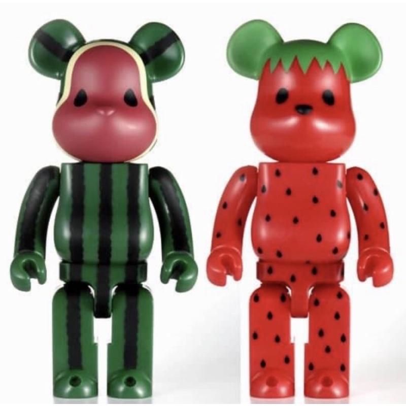 Be@rbrick Bearbrick LEVI'S x CLOT 水果 西瓜草莓400%