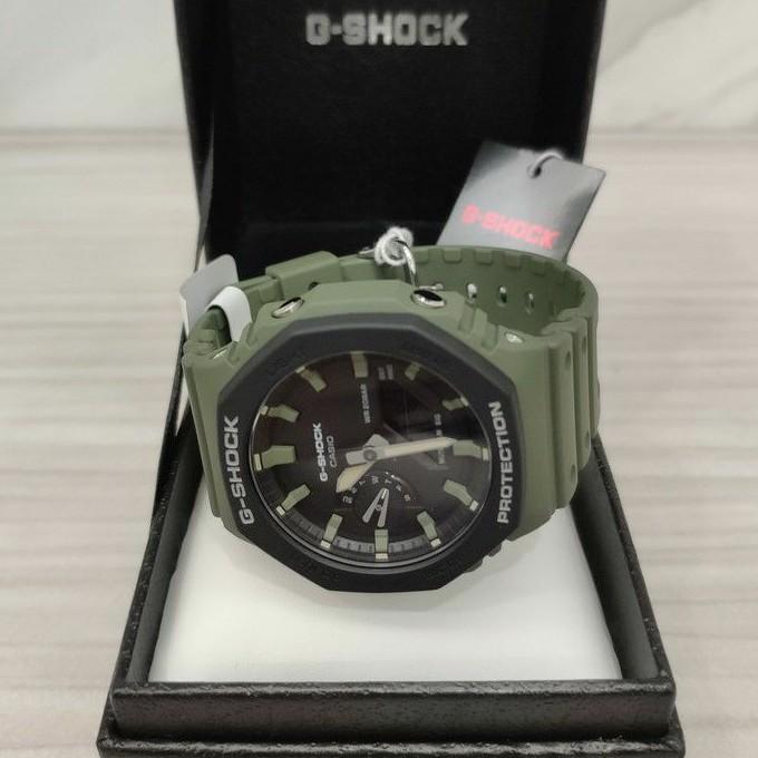 Casio 卡西歐 G-SHOCK GA-2110SU-3AJF GA2100 橡樹 軍綠 手錶 Gshock 小AP