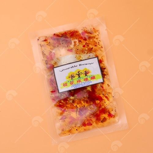 【艾佳】桂花玫瑰釀50g/包
