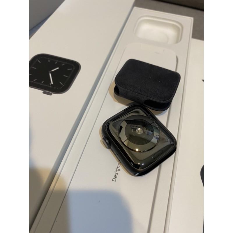 Apple Watch s5  44mm  40mm太空灰 二手近全新少用 保固內 手錶gps 鋁 運動錶帶