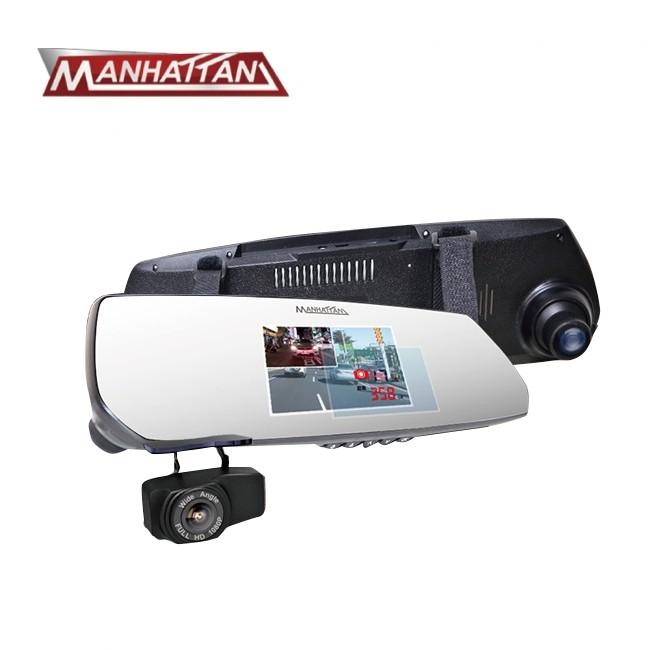 MANHATTAN 曼哈頓 RS10D 旗艦版 HDR 4K 超高畫質雙鏡頭行車記錄器