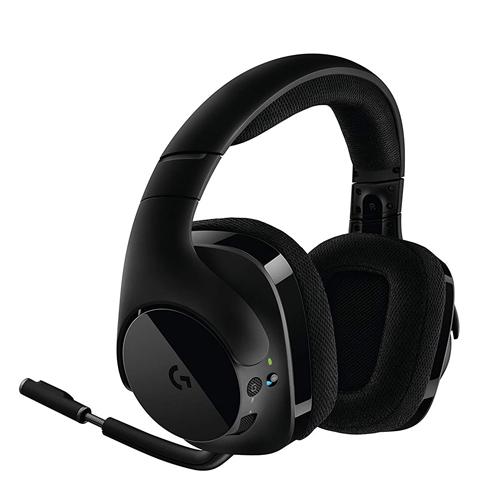 羅技 G533 無線 7.1 聲道環繞音效遊戲耳機麥克風(單耳機/搭配遊戲任選)【現貨免運】【GAME休閒館】