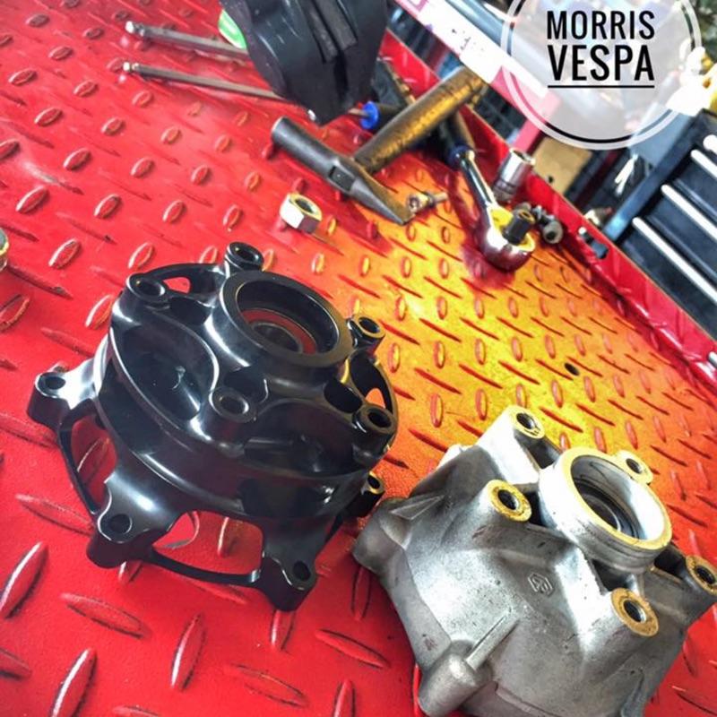 [ Morris Vespa ] RPM 哈姆 CNC 輕量化 Vespa GTV GT GTS