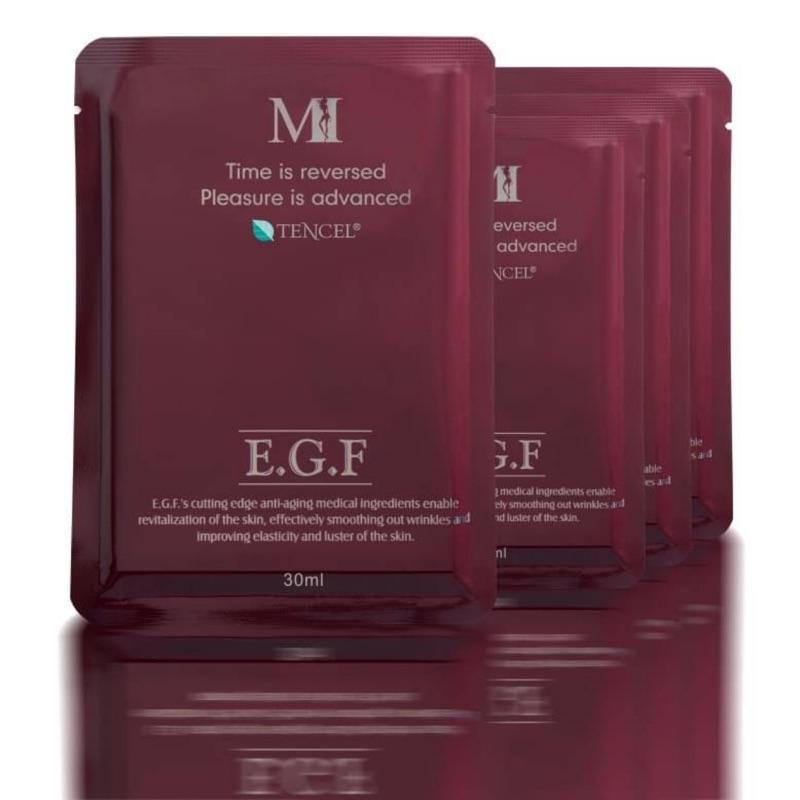 MI MASK EGF 超彈力緊緻美肌天絲面膜10片