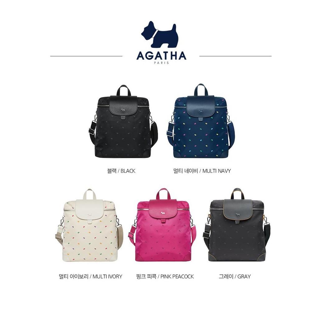 韓國代購-法國品牌Agatha 女生背包👜 後背包肩背包