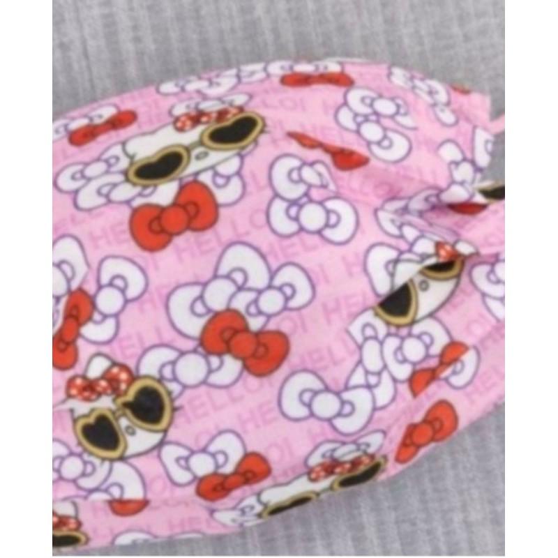 🔥現貨 熱賣🔥[ Kitty 口罩] Hello Kitty (戴墨鏡 新款) 卡通印花口罩 (非醫療用) 成人款
