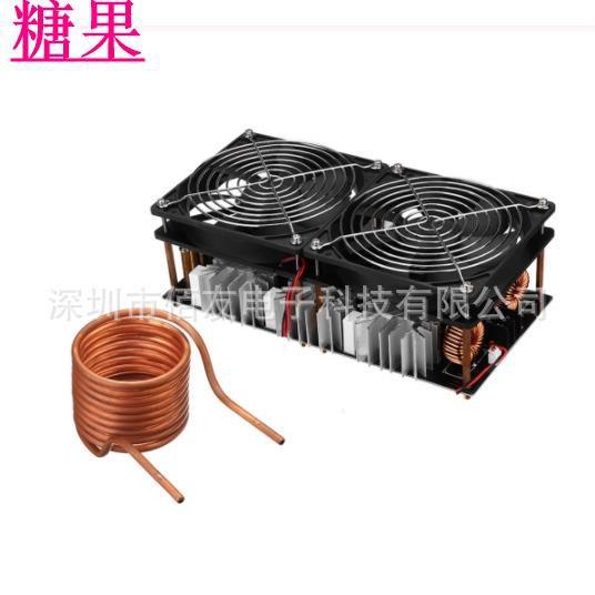 🔥糖果🔥ZVS高頻感應加熱2500W大功率 高頻機 高頻淬火 中頻爐 無抽頭zvs