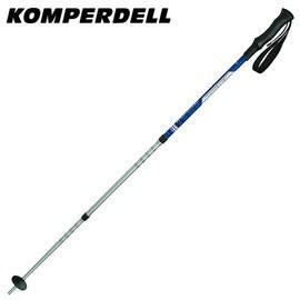 丹大戶外【KOMPERDELL】奧地利 WILD RAMBLER 7075 鋁合金短握把登山杖 1742424-10