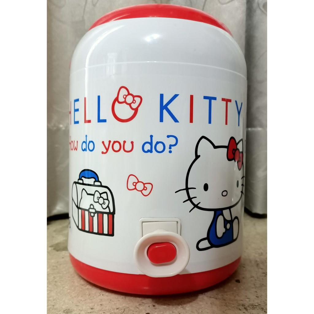 正版 雷標 Hello Kitty 凱蒂貓 3公升保冷(溫)冷水壺  野餐 露營 保冰桶 水壺 飲料桶 三麗鷗