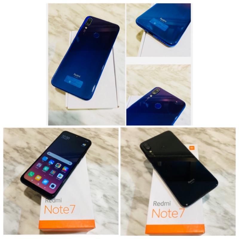 🍿2/5更新!降價嘍!🍿二手機 小米紅米 Redmi Note7 (64G 6.3吋 雙卡雙待 人臉解鎖)