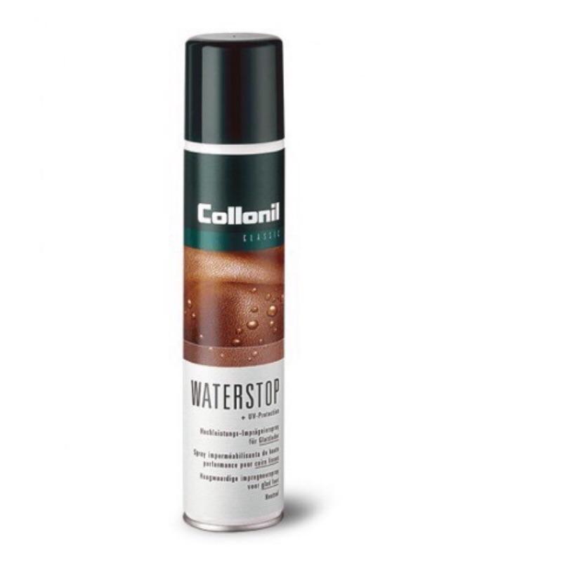 Collonil Waterstop 皮革防水噴劑 / 高光澤滋養乳膏 / 咖啡色鞋油