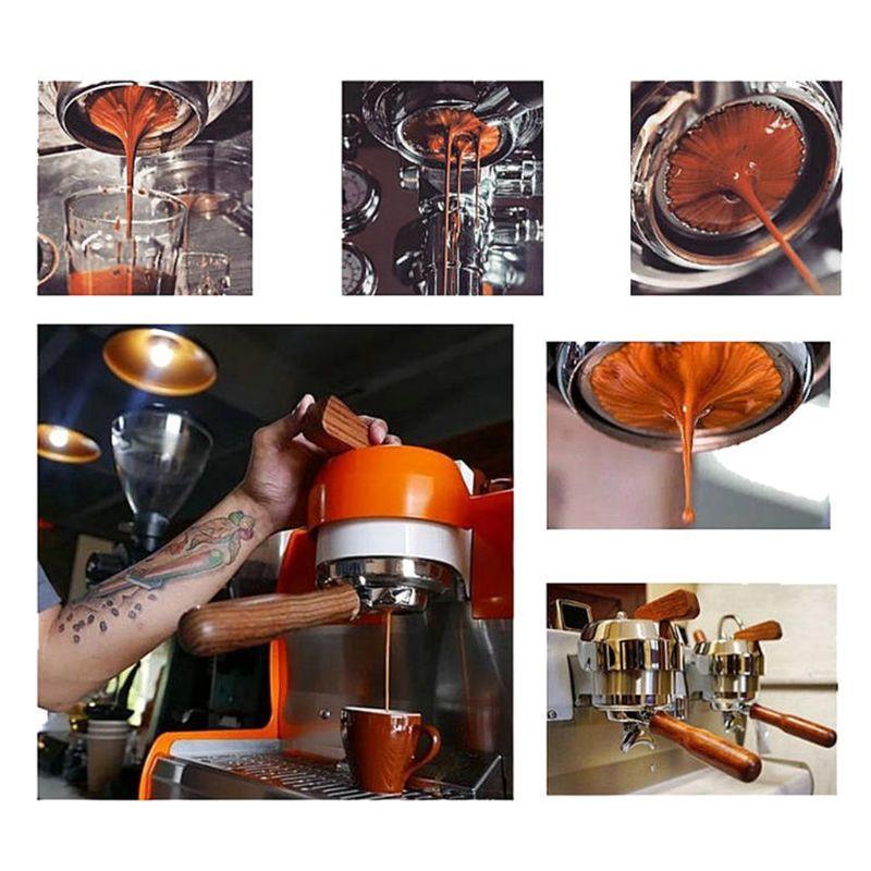 用於Breville 870/878/880過濾器的54毫米咖啡無底Portafilter