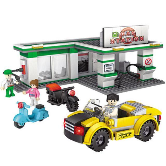 2018 樂高LEGO City 城市系列 - LT60132 加油維修站