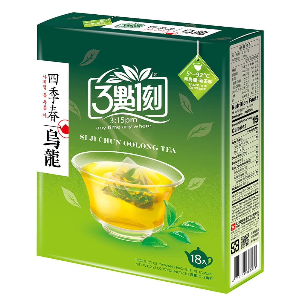 【3點1刻】四季春烏龍茶18入/盒