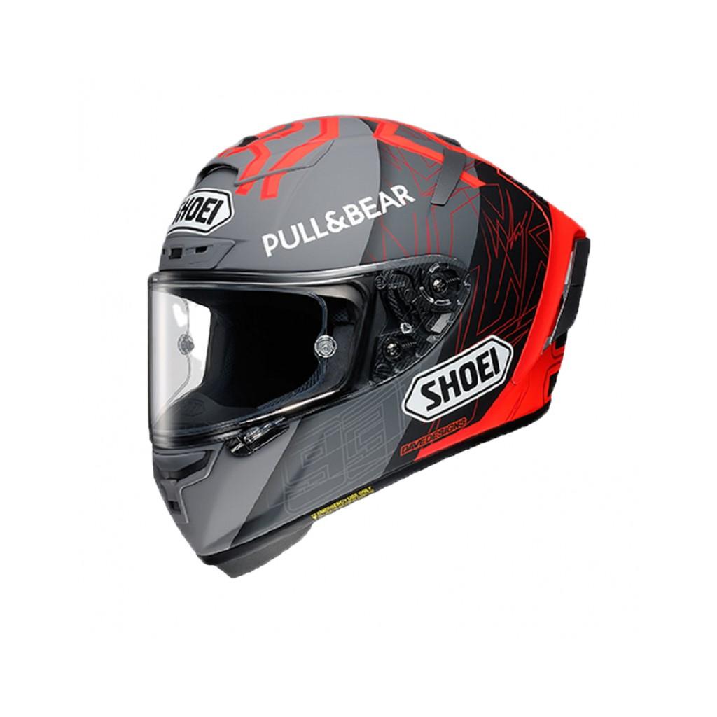 【松部品】日本SHOEI X-14 BLACK CONCEPT 2.0 MM93 冬測 選手彩繪 全罩安全帽