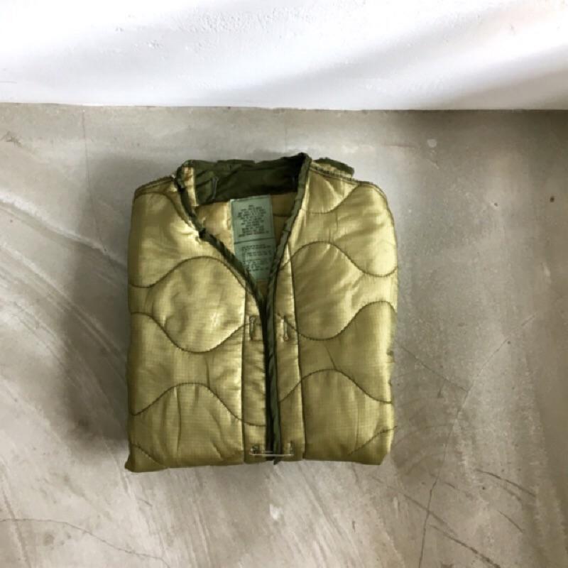 美軍公發 US ARMY M65 Jacket Liner 美國製 葫蘆衍縫外套 大衣內膽 古著 vintage
