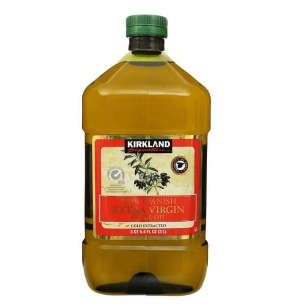 【宅配免運費】Kirkland Signature 科克蘭 西班牙初榨橄欖油 3公升 #1310208