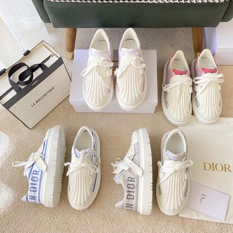 2021早春Dior早春最新款💋Dior 休閒鞋 小白鞋 懶人鞋 厚底鞋 貝殼鞋