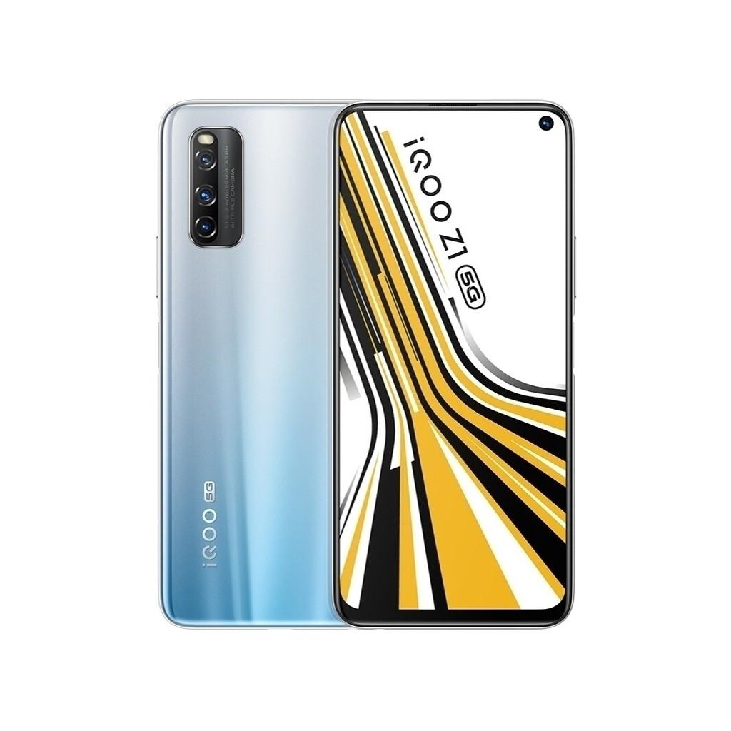 全新VIVO iQOO Z1 5G版,台灣手機5G+5G 雙卡雙待 天璣1000Plus旗艦芯片 144Hz競速屏 免運