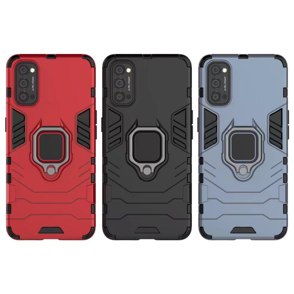 黑豹鋼鐵指環殼 適用 OPPO Reno 5 Reno 5Z 5G 手機殼