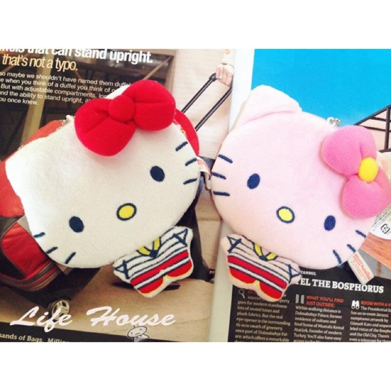 三麗鷗sanrio Hello kitty 全身造型零錢包